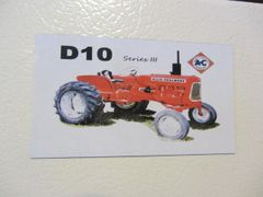 ALLIS CHALMERS D10 SERIES III Fridge/toolbox magnet