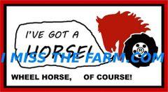 """WHEEL HORSE """"I'VE GOT A HORSE"""" TEE SHIRT"""