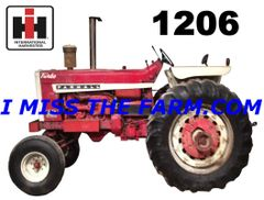 FARMALL 1206 OPEN STATION KEYCHAIN