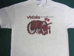 VIKING GARDEN TRACTOR TEE SHIRT
