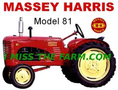 MASSEY HARRIS 81 TEE SHIRT