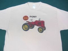MASSEY HARRIS PONY TEE SHIRT