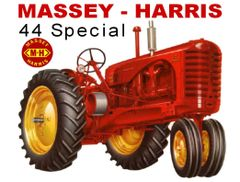 MASSEY HARRIS 44 NF SPECIAL TEE SHIRT