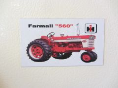 FARMALL 560 Fridge/toolbox magnet