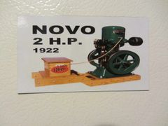 NOVO 2HP Fridge/toolbox magnet