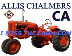 ALLIS CHALMERS CA (IMAGE #2) TEE SHIRT