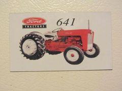 FORD 641 Fridge/toolbox magnet