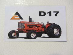 ALLIS CHALMERS D17 Fridge/toolbox magnet