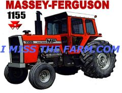 MASSEY FERGUSON 1155 HOODED SWEATSHIRT