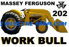 MASSEY FERGUSON 202 WORK BULL COFFEE MUG