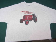"GRAHAM BRADLEY ""RED"" Tractor tee shirt"