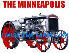"MINNEAPOLIS ""THE MINNEAPOLIS GAS"" TEE SHIRT"
