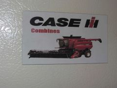 CASE IH COMBINES Fridge/toolbox magnet