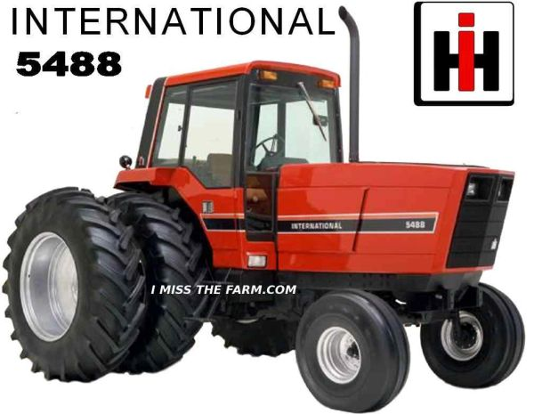 Ih 5488international Harvestorih5488tractorfarm Tractortee