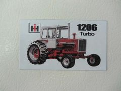 FARMALL 1206 (W/CAB) Fridge/toolbox magnet