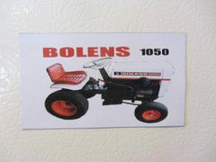 BOLENS 1050 Fridge/toolbox magnet