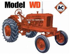 ALLIS CHALMERS WD WF HOODED SWEATSHIRT
