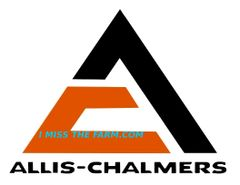 ALLIS CHALMERS TRIANGLE LOGO MOUSEPAD
