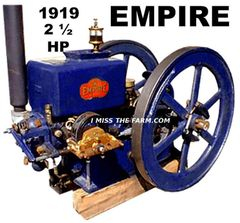 EMPIRE 2 1/2 HP ENGINE TEE SHIRT