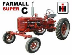 FARMALL SUPER C WF KEYCHAIN