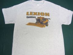 LEXION COMBINES TEE SHIRT