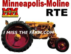 MINNEAPOLIS MOLINE RTE TEE SHIRT