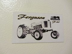 FERGUSON F-40 Fridge/toolbox magnet