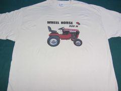 WHEEL HORSE 520-H TEE SHIRT