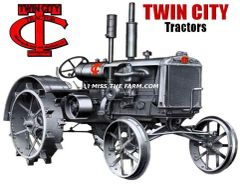 TWIN CITY TRACTORS HOODED SWEATSHIRT