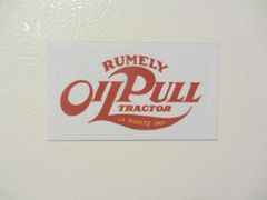 RUMELY OIL PULL LOGO Fridge/toolbox magnet