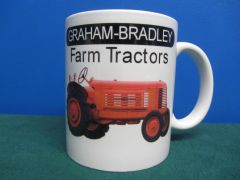 GRAHAM BRADLEY FARM TRACTORS COFFEE MUG