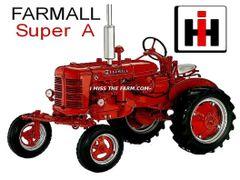 FARMALL SUPER A KEYCHAIN