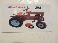 WHEEL HORSE 753 Fridge/toolbox magnet