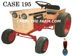 CASE 195 TEE SHIRT