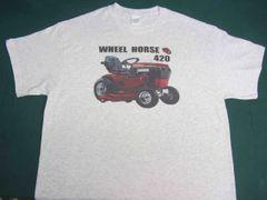 WHEEL HORSE 420 TEE SHIRT
