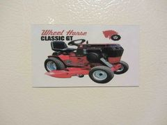 WHEEL HORSE CLASSIC GT Fridge/toolbox magnet