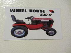 WHEEL HORSE 520-H Fridge/toolbox magnet