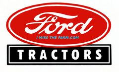 FORD TRACTORS LOGO HOODED SWEATSHIRT