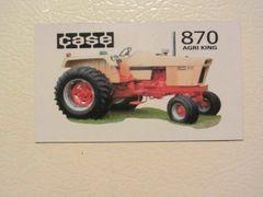 CASE 870 Fridge/toolbox magnet