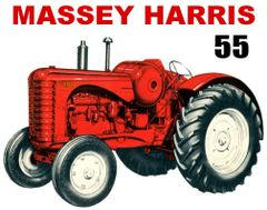MASSEY HARRIS 55 LP TEE SHIRT