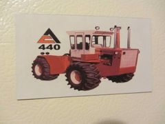 ALLIS CHALMERS 440 Fridge/toolbox magnet