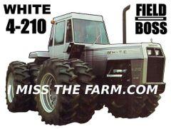 WHITE 4-210 TEE SHIRT