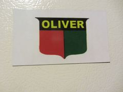 OLIVER LOGO Fridge/toolbox magnet