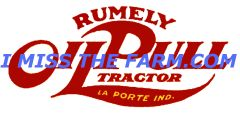 RUMELY OIL PULL LOGO COFFEE MUG