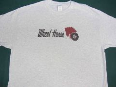WHEEL HORSE LOGO (black text) TEE SHIRT