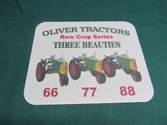 OLIVER RC THREE BEAUTIES MOUSEPAD
