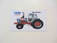 CASE 1570 SPIRIT OF 76 Fridge/toolbox magnet