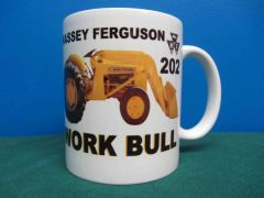 MASSEY FERGUSON 202 WORK BULL COFFEE MUG