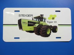 STEIGER TIGER III LICENSE PLATE