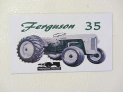 FERGUSON T0-35 (GREEN) Fridge/toolbox magnet